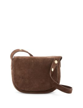 zoe-mini-suede-saddle-bag by elizabeth-and-james