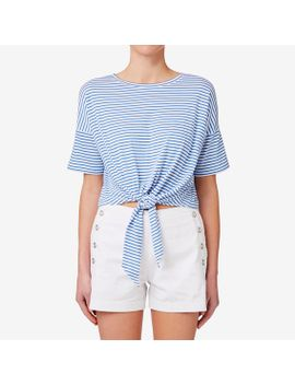 drop-shoulder-knot-tee by seed-heritage