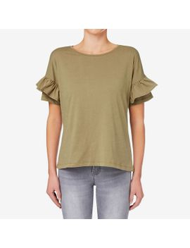 frill-sleeve-tee by seed-heritage