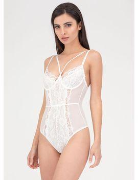 flawless-lace-sheer-bustier-bodysuit by gojane