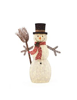 60-in-175-light-christmas-led-snowman-with-broom by home-accents-holiday