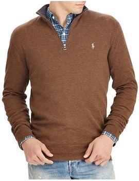 luxury-jersey-half-zip-pullover by polo-ralph-lauren