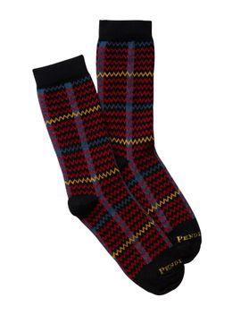 plaid-crew-socks by pendleton