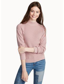 ribbed-mock-neck-sweater by twiktwiklevisadidas-originals