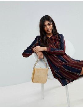 vero-moda-tall-stripe-frill-hem-dress by vero-moda-tall
