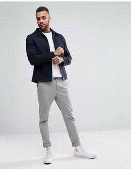 le-shark-wool-mix-harrington-jacket by jacket