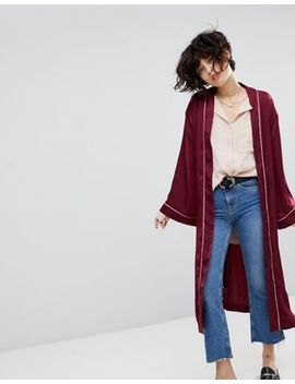 joa-kimono-jacket-in-piped-satin by joa