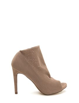 what-a-hot-mesh-netted-peep-toe-booties by gojane