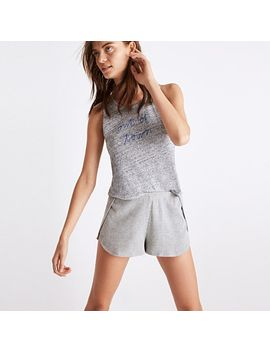 waffle-knit-pajama-shorts by madewell