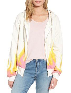 wilfox-wildfire-prescott-zip-hoodie by wildfox