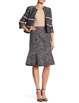 seamed-flounce-skirt by ellen-tracy