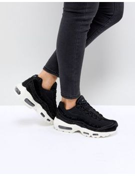 nike-air-max-95-lx-trainers-in-black by nike