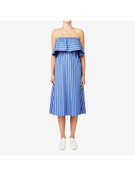 off-shoulder-midi-dress by seed-heritage