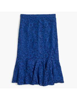 lace-trumpet-skirt by jcrew