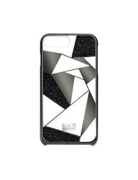 heroism-smartphone-case-with-bumper,-iphone®-8-plus,-black by swarovski