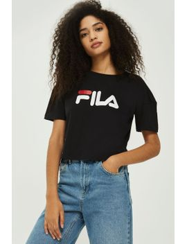 exclusive-logo-crop-t-shirt-by-fila by topshop