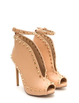 stud-y-time-plunging-faux-leather-heels by gojane