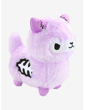 zombie-alpaca-lavender-plush by hot-topic