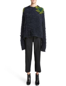 fhira-hairy-oversize-sweater by acne-studios
