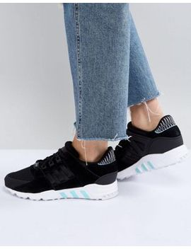adidas-originals-eqt-support-rf-sneakers-in-black by adidas