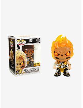 funko-mortal-kombat-x-pop!-games-scorpion-(flaming-skull)-vinyl-figure-hot-topic-exclusive by hot-topic