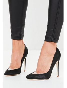 black-clear-toe-pointed-pumps by missguided