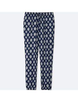 women-drape-stamp-print-pants by uniqlo