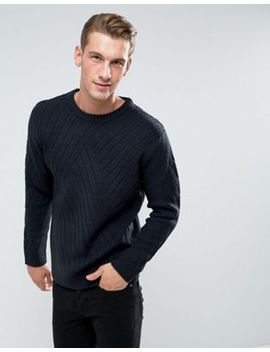 bellfield-sweater-with-rib-texture by bellfield