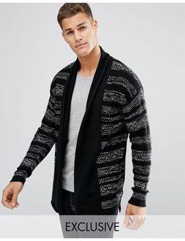 jack-&-jones-originals-open-drape-cardigan-in-mixed-stripe by jack-&-jones
