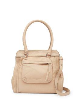malavi-front-pocket-leather-shoulder-bag by liebeskind-berlin