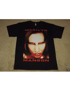 marilyn-manson-high-end-of-low-s,-m,-l,-xl,-2xl-black-t-shirt by global-merchandising
