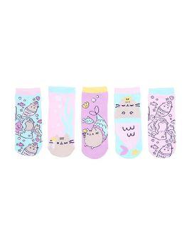 pusheen-mermaid-no-show-socks-5-pair by hot-topic
