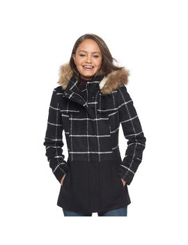 juniors-pink-envelope-faux-fur-hood-anorak-jacket by kohls