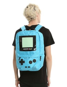 nintendo-game-boy-color-blue-backpack by hot-topic