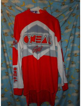 vintage-oneal-racing-motorcross-supercross-l_s-shirt-jersey-medium-stitched by ebay-seller