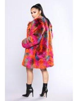 show-you-up-faux-fur-jacket---multi by fashion-nova
