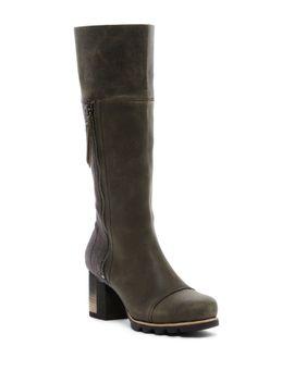 addington-tall-waterproof-boot by sorel