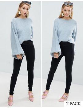 new-look-2-pack-high-waist-leggings by new-look