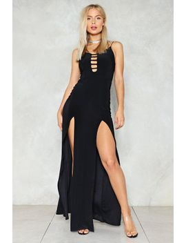 lets-split-maxi-dress by nasty-gal