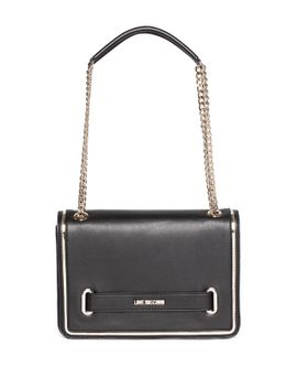 love-strap-chain-drop-shoulder-bag by love-moschino