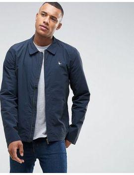 jack-wills-bodham-lightweight-nylon-harrington-jacket-in-navy by -jack-wills
