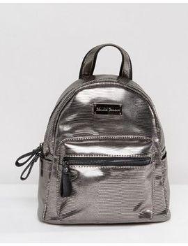 claudia-canova-mini-pewter-backpack by cart