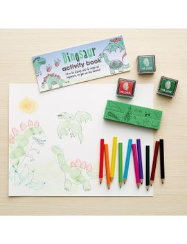 dinosaurs-finger-printing-art-set by container-store