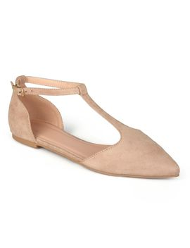 journee-collection-vera-womens-t-strap-flats by journee-collection