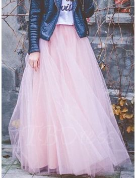 floor-length-pleated-mesh-expansion-womens-skirt by floor-length-pleated-mesh-expansion-womens-skirt