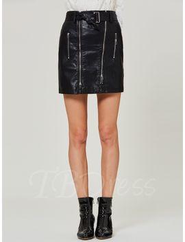high-waist-plain-zipper-womens-mini-skirt by high-waist-plain-zipper-womens-mini-skirt