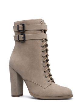 gretchen-military-bootie by shoedazzle