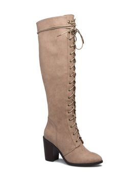 nessa-lace-up-boot by shoedazzle