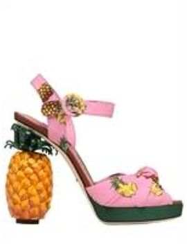 140mm-keira-pineapple-cady-sandals by dolce-&-gabbana