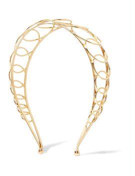 infinity-gold-plated-headband by lelet-ny